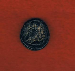 Bronce de Atenas (Atenea - Mochuelo sobre ánfora) / 195-190 a.C. Greek_020